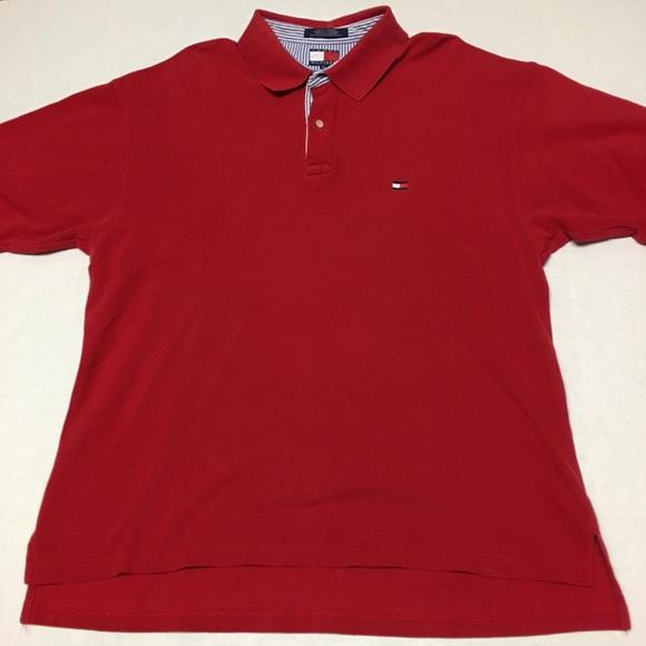 e22228d4e Vintage Tommy Hilfiger Flag logo red polo shirt. M_5a92c0226bf5a6351ab766f9